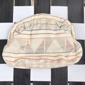 [Vintage] Fabric Hinge Clutch Bag
